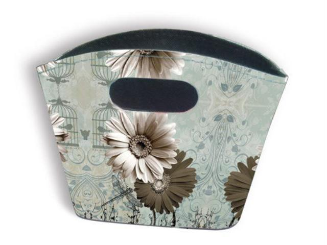 Tidy Bag - Monochrome Flower