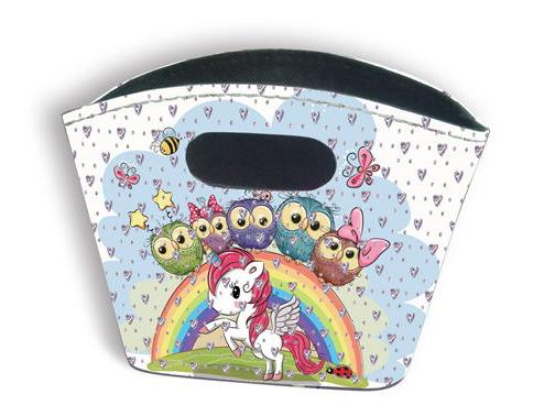 Sparkle Tidy Bag - Unicorn and Owls