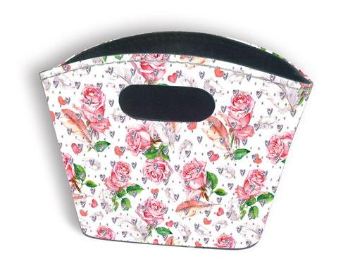 Sparkle Tidy Bag - Roses & Feathers